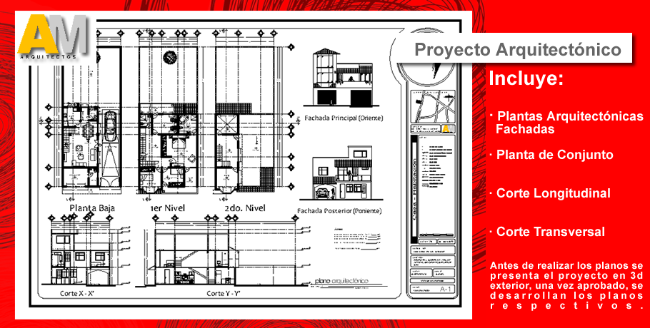 Planos proyecto arquitect nico instalaciones estructural for Programa para hacer planos arquitectonicos