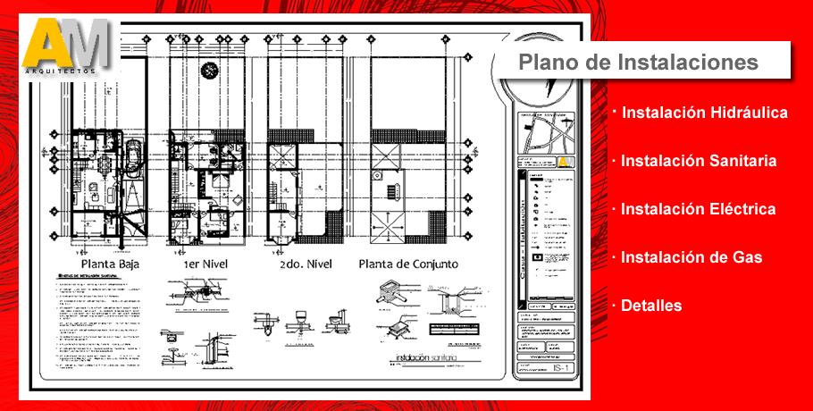 Worksheet. Planos Proyecto Arquitectnico Instalaciones Estructural
